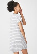 Cotton On - Tina -t-shirt dress - grey