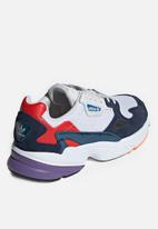 adidas Originals - Falcon - crystal white & collegiate navy
