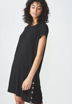 Cotton On - Tina -t-shirt dress - black