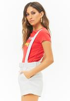 Forever21 - Dungaree - white