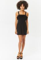 Forever21 - Babydoll frill dress - black