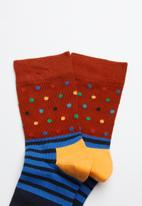 Happy Socks - Kids dot socks 2 pack - multi