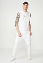 Cotton On - Hustle muscle tank - white