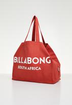 Billabong  - Sunday beach bag - red