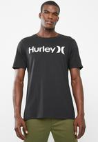 Hurley - Short sleeve solid T-shirt - black