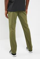 Hurley - Worker pants - khaki green