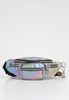 UNSEEN - Galaxy waist bag - silver