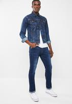 SOVIET - Base straight leg denim jeans - blue
