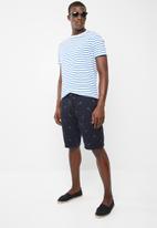 STYLE REPUBLIC - Anchor shorts - navy