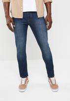 STYLE REPUBLIC - Steve slim fit stretch jeans - blue