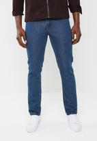 STYLE REPUBLIC - Straight cut denim jeans - blue