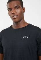 Fox - Leeward T-shirt - black