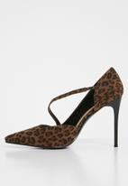 dailyfriday - Rachel court heel - leopard