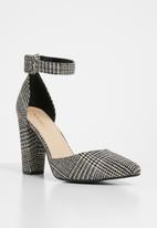 Superbalist - Farrah ankle strap heel - grey