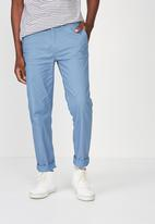 Cotton On - Knox chino pant - blue
