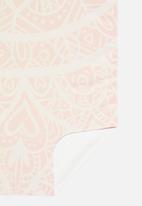 Bobums - Yoga towel - candy mandala