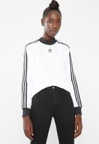 adidas Originals - Long sleeve tee - white