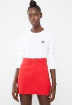 adidas Originals - SC long sleeve tee - white