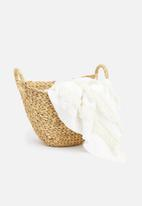 Sixth Floor - Water hyacinth basket small - neutral