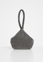Superbalist - Anna embellished bag - black & silver