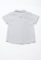 Superbalist - Boys linen shirt - grey