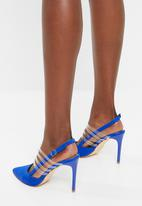Madison® - Strappy slingback heels - blue