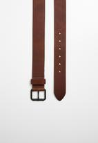 Superbalist - Classic formal leather belt - brown