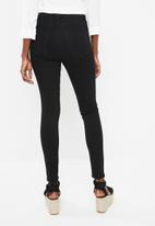 Superbalist - Hi-rise skinny jeans - black