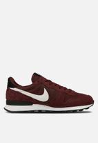 Nike - Internationalist - burgundy crush/summit white-black