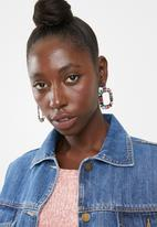 Superbalist - Rectangle embellished earrings - multi