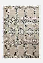 Fotakis - Aztec cottage rug - blue