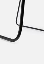 Sixth Floor - Barlow wire chair - black