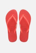 Havaianas - Slim flip flops - coral