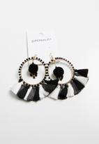 Superbalist - Tassel and pom pom earrings - mutli