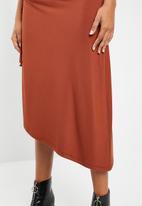 Superbalist - Ruched sleeveless dress - tan