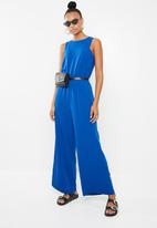 Superbalist - Wide leg jumpsuit - blue