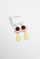 Superbalist - Multi shape earrings - multi