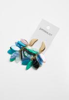 Superbalist - Ashley multi coloured statement earrings - multi