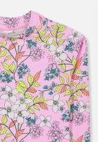 Cotton On - Hamilton long sleeve rash  - multi