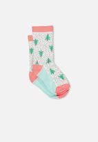 Cotton On - Fashion kooky socks - multi