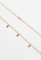 Superbalist - Josie anklet set - gold