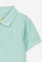 Cotton On - Kenny 3  polo - green