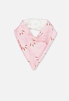 Cotton On - Dribble bib - pink