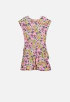 Cotton On - Joey short sleeve dress - multi