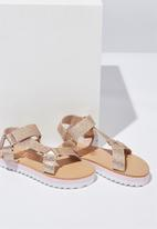 Cotton On - Ivy sandal - gold
