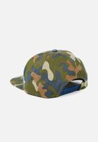 Cotton On - Flat peak cap - multi