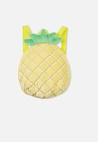 Cotton On - Mini novelty backpack - yellow & green