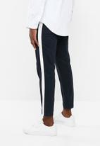 Superbalist - Cropped slim fit taped chino - navy