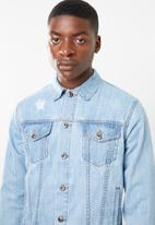 Superbalist - Fashion denim trucker jacket - blue