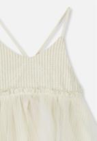 Cotton On - Isadora dress up - cream & gold